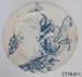 Plate, dinner; R Hammersley & Son; 1885-1905; CT78.911