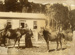 Photograph [Mrs Fraser with Horses at Fraser's Boarding House]; [?]; [?]; CT82.1459c