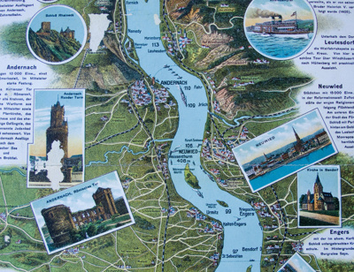 Map, The Rhine; K Suder; c1940s [?]; CT3094d