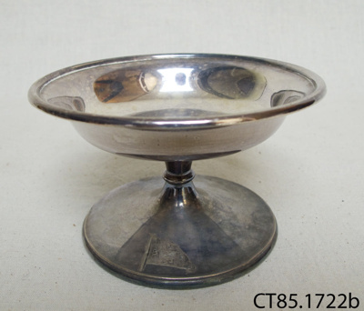 Dish, bonbon; Walker and Hall; Pre 1929; CT85.1722b