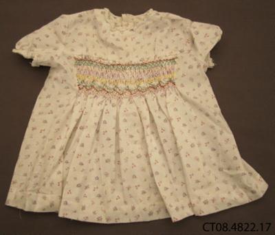 Dress, girl's; Jones, Dawn (Mrs); 1950s; CT08.4822.17