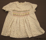 Dress, girl's; Jones, Dawn (Mrs); 1950s; CT08.4822.17