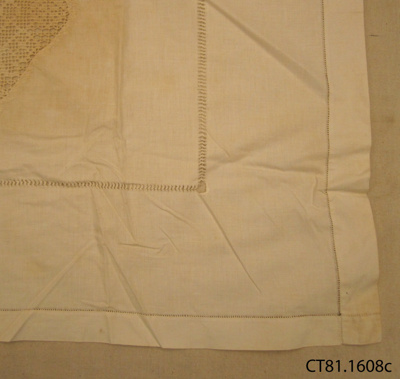 Cloth, afternoon tea; [?]; [?]; CT81.1608c
