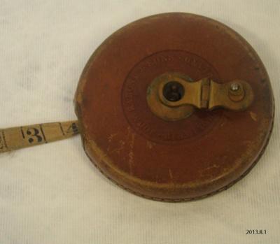 Measure, tape; John Rabone & Sons; 2013.8.1