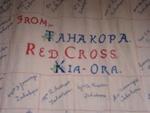 Red Cross quilt, CTNN15