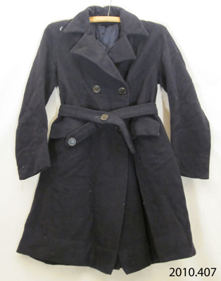Coat, girl's; [?]; [?]; 2010.407