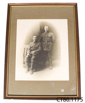 Photograph [James and William Williamson]; Wrigglesworth & Binns; c1914-1918; CT80.1175