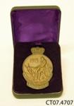 Medal, Gallipoli; [?]; c1915; CT07.4707