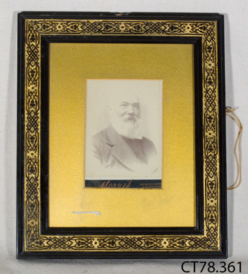 Photograph [Rev. William Bannerman]; Morris; late 19th - early 20th century; CT78.361