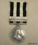 Medal [Service Medal of the Order of St John]; St John Ambulance Association; 20th century; 2010.417.3.1