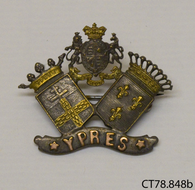 Badge, military; [?]; c1918; CT78.848b