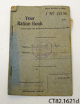 Book, ration; The Rationing Emergency Regulations; October 1943; CT82.1621d