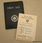 Certificate of achievement [James Macalister Brown]; St John Ambulance Association; c1970; 2010.417.6