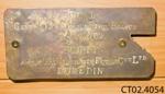 Tag [Associated Motorists Petrol Co Ltd]; Associated Motorists Petrol Co Ltd; [?]; CT02.4054