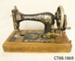 Machine, sewing; Singer Manufacturing Co; November 1901; CT88.1869