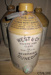 Jar, stoneware; West & Co; [?]; CT78.597