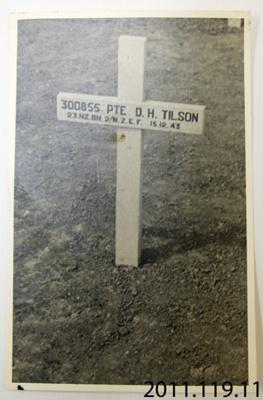 Photograph [Soldier's grave]; [?]; 20th century; 2011.119.11