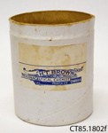 Container, medicine; H T Brown MPS, Chemist; [?]; CT85.1802f