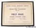 Certificate [Owaka Bowling Club]; South Otago Bowling Centre; 1945-1946; CT99.3010