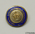 Badge, military; [?]; [?]; CT78.850b