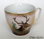 Cup and saucer; CT80.1327c