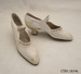 Shoes, wedding; [?]; early 20th century; CT81.1614c