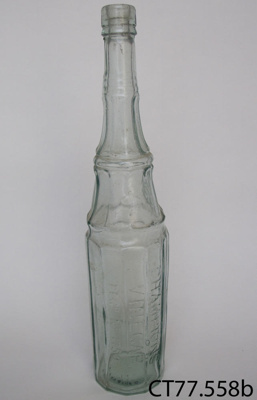 Bottle, vinegar; CT77.558b