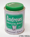 Tin [Andrews Health Salt]; Glenbrook Laboratories; [?]; CT85.1802e