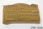 Dressing, field; Robinson & Sons Ltd; January 1945; CT81.1235i