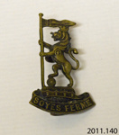 Badge, military; J R Gaunt & Son; 1914-1918; 2011.140