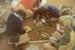 Photograph [Catlins Area School, sand saucers]; [?]; [?]; 2010.757
