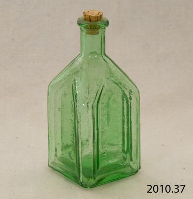 Bottle, medicine; Walbridge Co; [?]; 2010.37