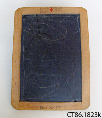 Slate, writing; National School Slate Co.; CT86.1823k