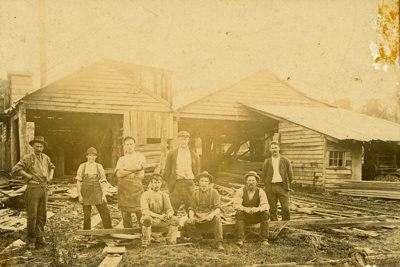 Photograph [Latta Bros mill, Katea]; [?]; 1899-1910; CT78.1001a13