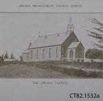Booklet, Owaka Presbyterian Church Jubilee 1885-1935, Souvenir Booklet; Otago Daily Times and Witness Newspapers Co. Ltd; 1935; CT82.1532a