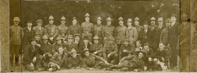 Photograph [Returned Soldiers, 1918]; [?]; c1918; CT78.1006a