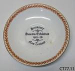 Plate, commemorative; John Aynsley & Sons; c1925; CT77.11