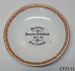 Plate, commemorative; John Aynsley & Sons; c1925; CT77.11