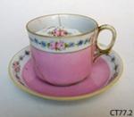Cup and saucer; Noritaki; CT77.2