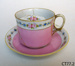 Cup and saucer; Noritaki; CT77.2
