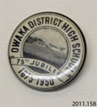 Badge, commemorative; [?]; c1950; 2011.158