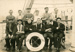 """Photograph [Firemen and Trimmers on SS """"Manuka""""]; [?]; CT79.1270b"""