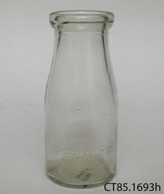 Bottle, milk; CT85.1693h