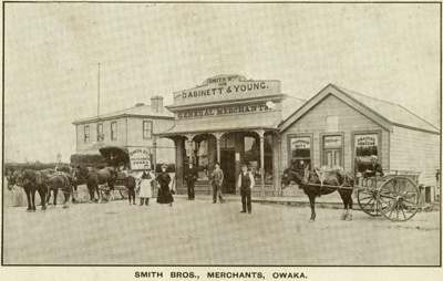 Photograph [Smith Bros., Owaka]; [?]; 1909[?]; CT94.2057b