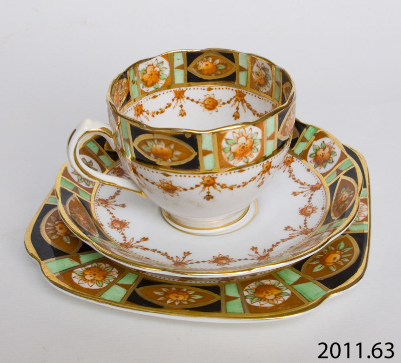 Set Tea Reid Amp Co Subsequently Roslyn China 2011 63