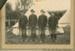 Photograph,Clutha Mounted Rifles, 1901. L to R, Sgt Harry Latta, Troopers William McPhee, Alexander Adams, Charles Bird; Labatt, E A (Mrs); c1901; CT78.1005k