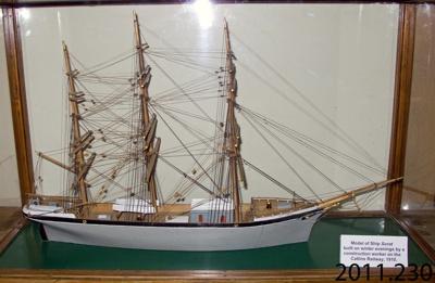 Model, scale [Surat]; [?]; c1910; 2011.230