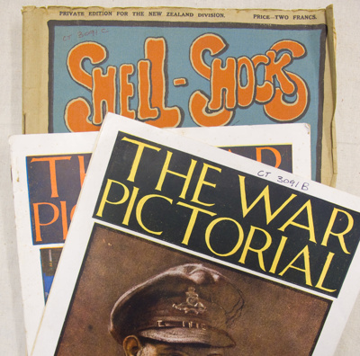 Magazines, WWI; 1916-1918; CT3091 b, c, d, e