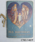 Book, His Birthday, by Amy Le Feuvre.; Le Feuvre, Amy; c1900; CT83.1487f