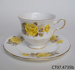 Teacup and side plate; Shore & Coggins Ltd (Queen Anne); c1945-1966; CT07.4735b